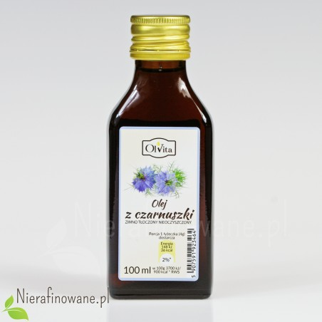 Olej z czarnuszki Ol'Vita 100 ml