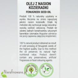 Olej z nasion kozieradki Ol'Vita - opis