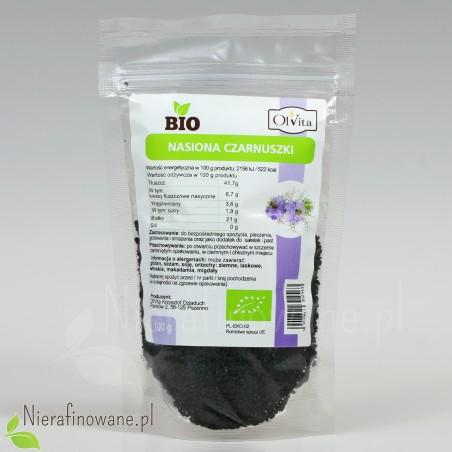 Nasiona czarnuszki BIO - Ol'Vita