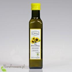 Olej słonecznikowy zimnotłoczony nieoczyszczony Ol'Vita - 250 ml