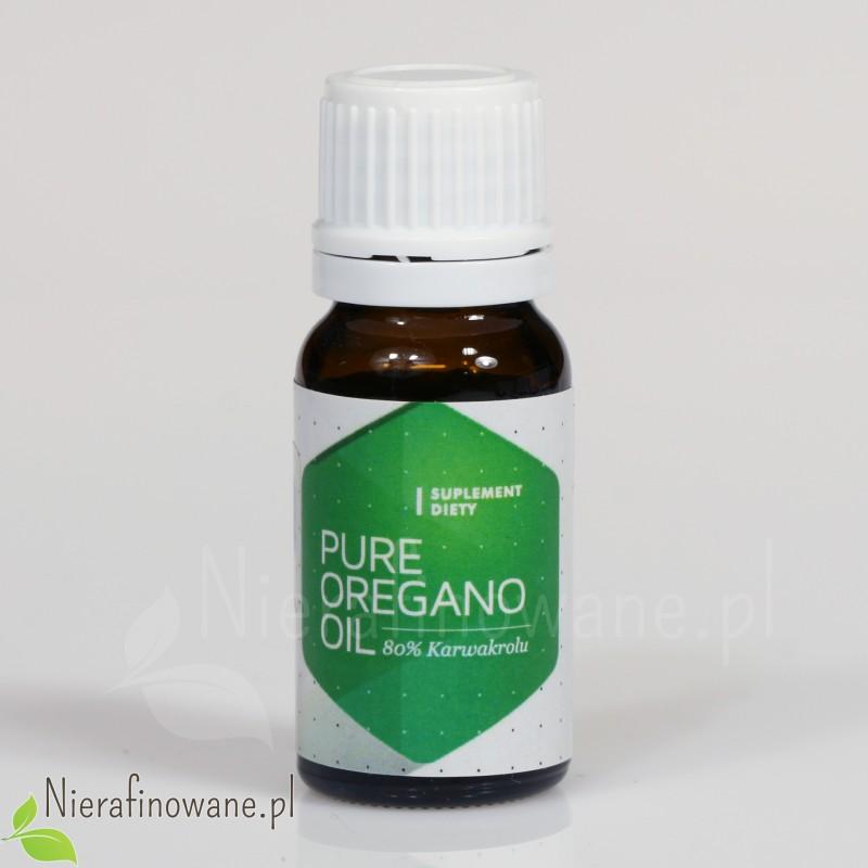 Olej z Oregano (origanum vulgare, dzikie oregano), 80% karwakolu - Hepatica - 10 ml