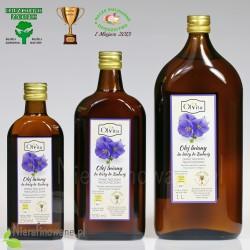 Olej lniany do diety Dr Budwig, Ol'Vita - 250 ml