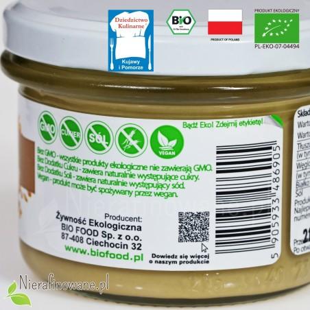Masło sezamowe, pasta Tahini - ekologiczne - BioFood