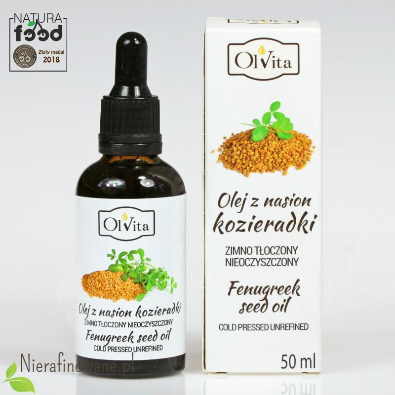Olej z nasion kozieradki Ol'Vita - 50 ml