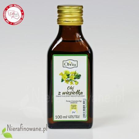 Olej z Wiesiołka zimnotłoczony, nieoczyszczony Ol'Vita - 100 ml