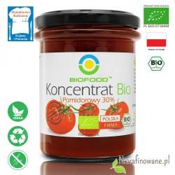 Koncentrat pomidorowy, BIO, ekologiczny, BioFood