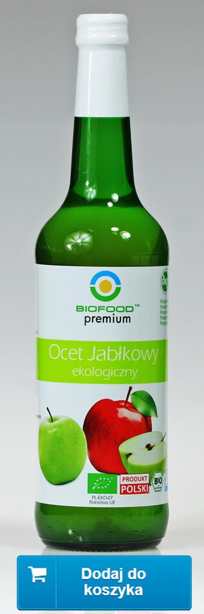 Ocet jabłkowy ekologiczny Bio Food, niepasteryzowany